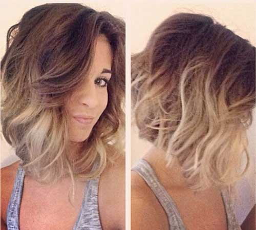 Blonde Ombre Short Hair Style Pics