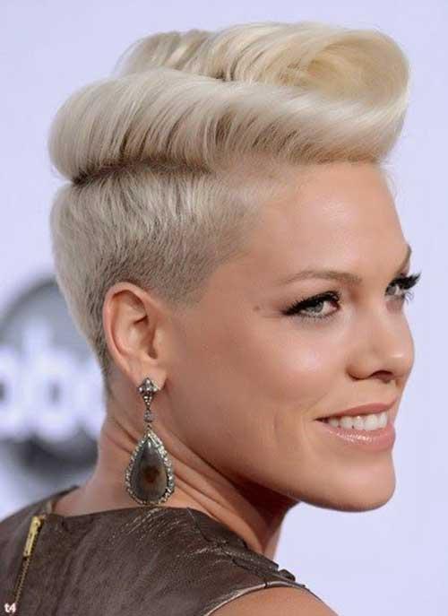 Best Blonde Pixie Cut Celebrity Hairstyles