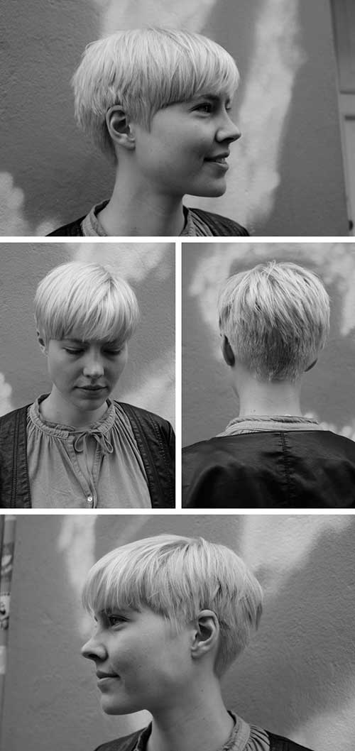 Blonde Pixie Hairstyles 2015