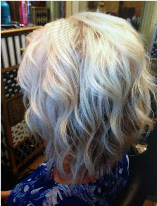 Blonde Wavy Bob Hair 2015