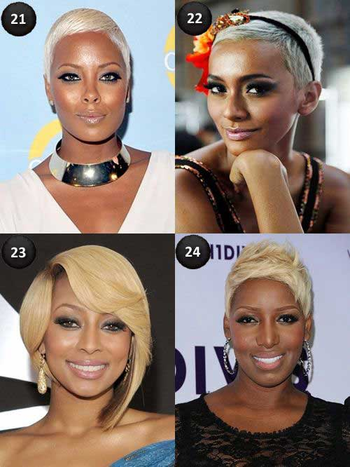 Best Blonde Weave Short Hairstyles for Black Women