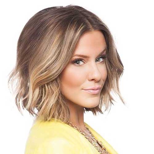 Bob Cut Blonde Ombre Short Hairstyles