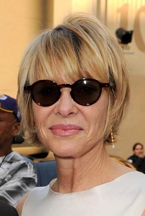 Casual Short Hairstyles for Women over 50
