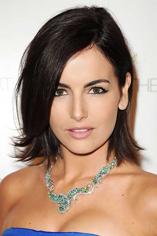 Celebrity Dark Bob Hair Styles