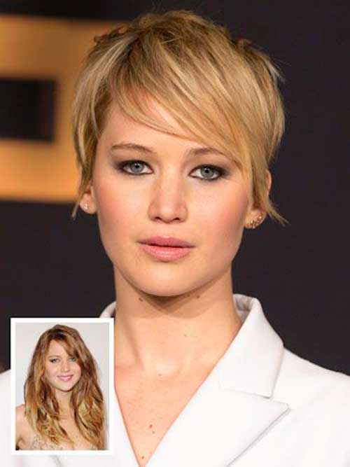 Celebrity Pixie Short Hair Cuts