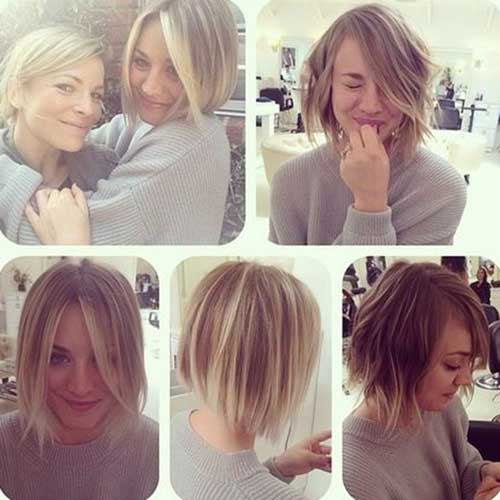 Best Celebrity Short Hairstyles 2014