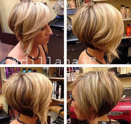 Bob Cut for Round Faces