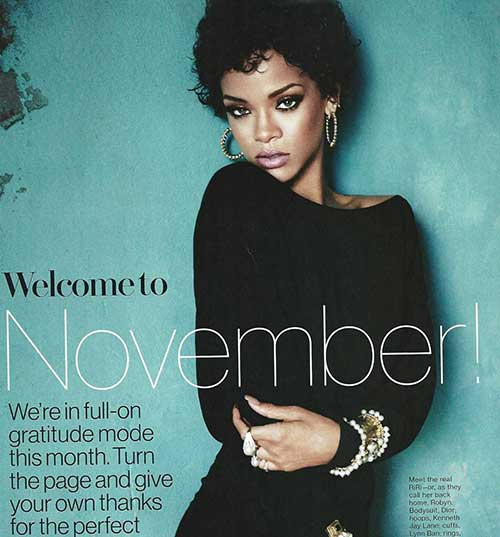 Best Chic Curly Pixie Rihanna