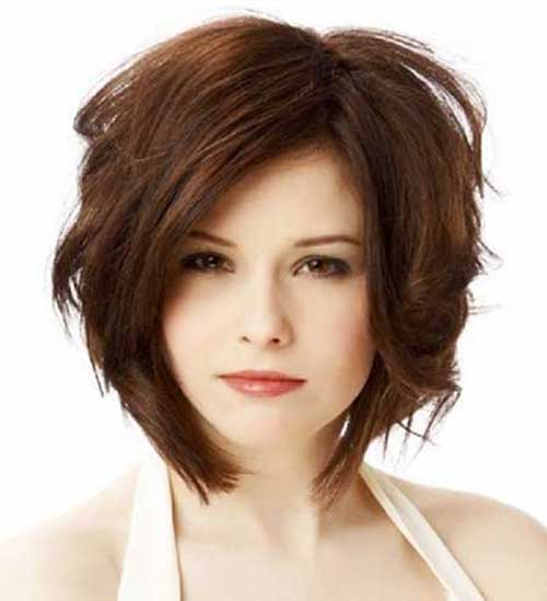 10 Short Haircuts For Chubby Faces