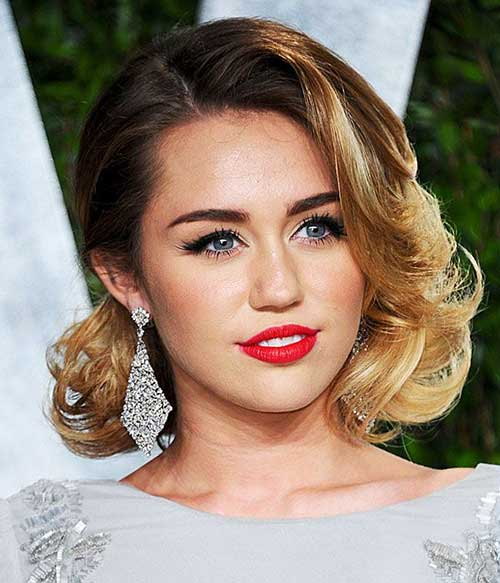 Curly Bob Hair Celebrity Hairstyles