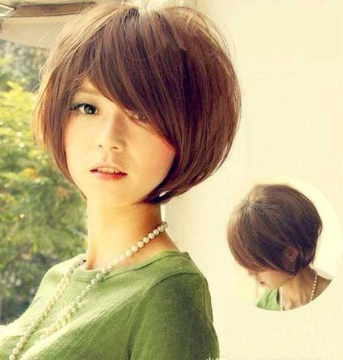 Cute Asian Haircuts for Short Thick Hair