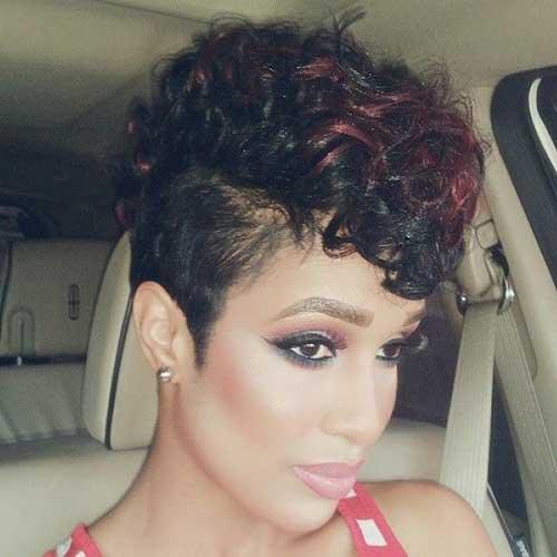 Best Cute Black Short Curly Hairstyles