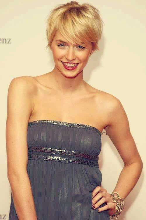 Cute Blonde Pixie Hairstyles