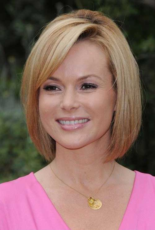 Cute Blunt Bob for Straight Hairstyles