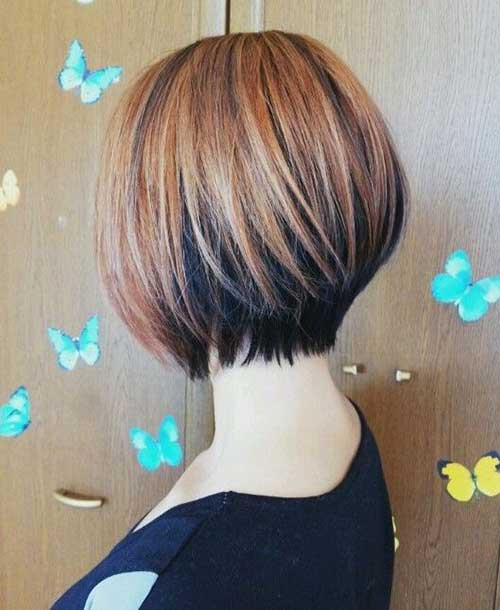 Cute Bob Haircuts for Straight Short Hair Type