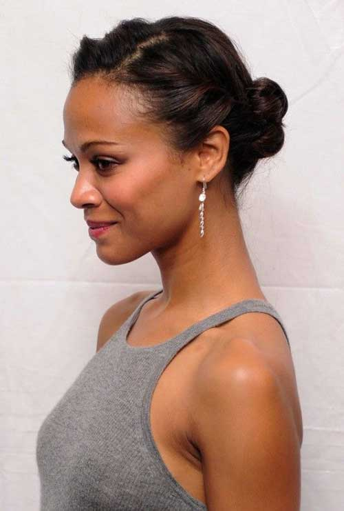 Phenomenal 10 Cute Buns For Short Hair Short Hairstyles Amp Haircuts 2015 Short Hairstyles For Black Women Fulllsitofus