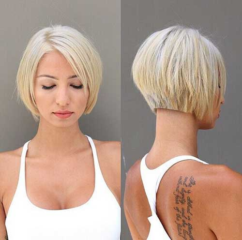 Cute Easy Blonde Bob Short Hairstyles