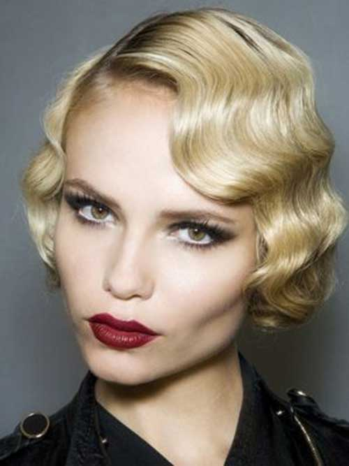 Cute Easy Finger Waves Short Hairstyles