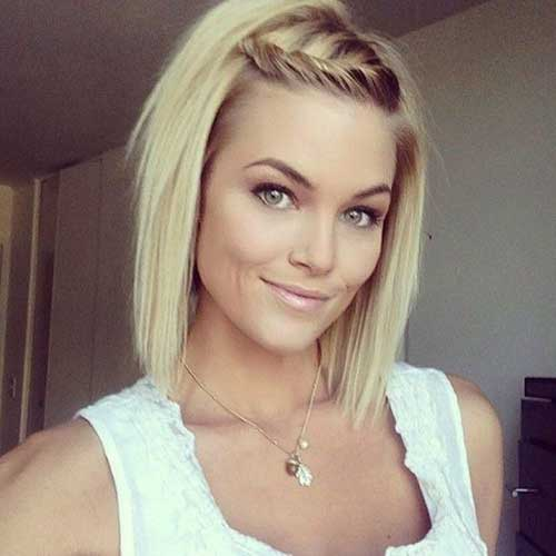 Cute Easy Hairstyles Short Braided Hair