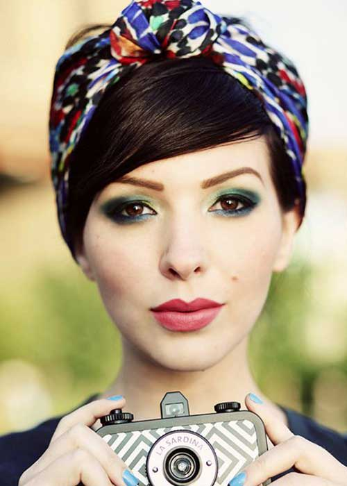 Cute Easy Headband Short Hairstyles