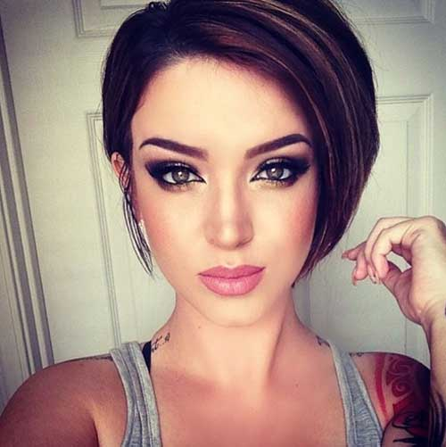 Cute Haircuts for Dark Short Hair