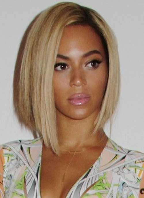 Cute Long Bob for Straight Hairstyles