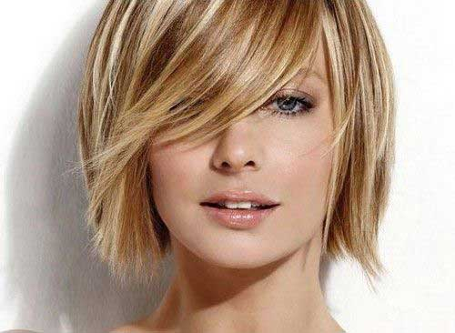 Excellent 10 Cute Short Hairstyles For Round Faces Short Hairstyles Hairstyle Inspiration Daily Dogsangcom