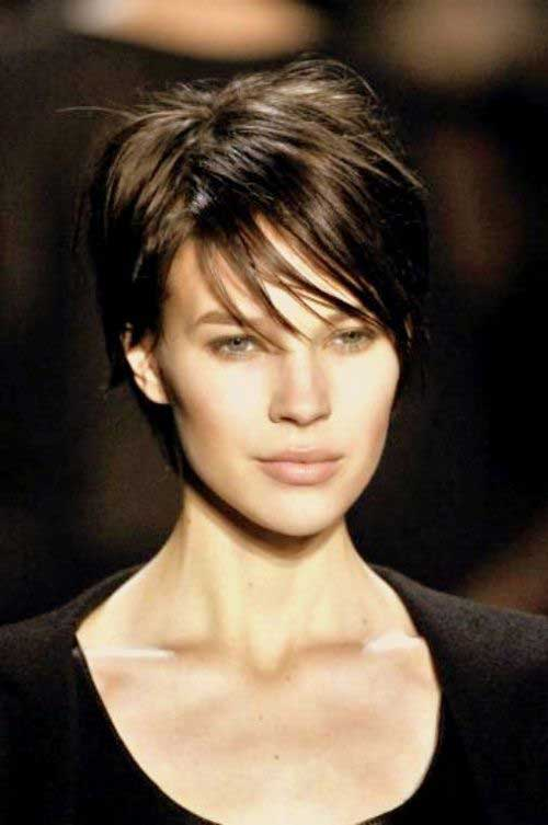 Cute Short Pixie Haircuts for Straight Hair