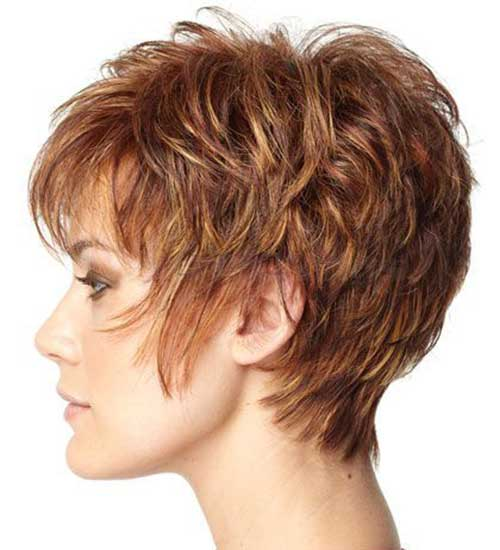 Cute Short Hairstyles Ideas for Women over 50