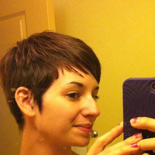 Cute Short Pixie Haircuts for Thin Hairstyle