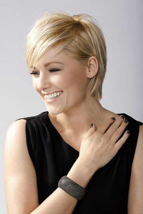 Cute Short Pixie for Straight Hair Type