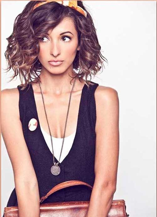 Cute Thick Curly Hairstyles Short Cut