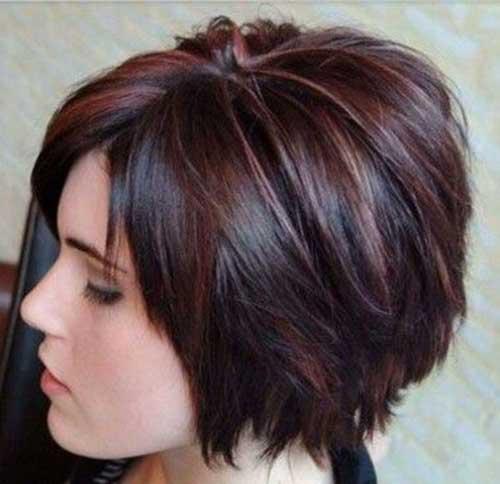 Dark Brown Pixie Hair Colors
