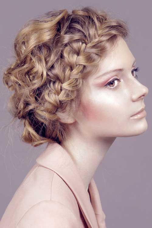 Best Easy Braided Short Hairstyles for Curly Hair