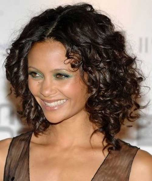 Best Easy Dark Brown Short Hairstyles for Curly Hair