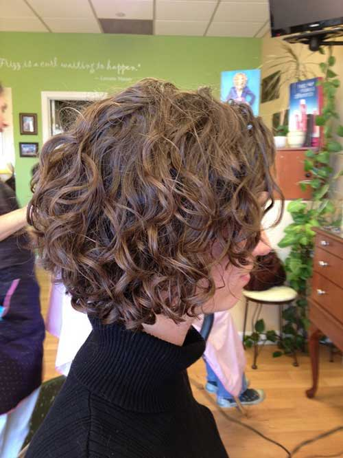 Easy Short Hairstyles Ideas for Curly Hair