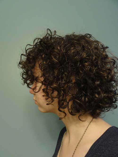 Easy Short Hairstyles for Thick Curly Hair