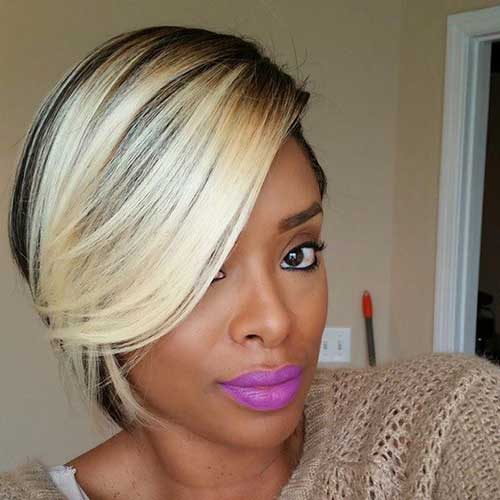 Best Fine Blonde Bob for Black Women