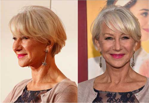 Fine Hair Type Short Hair Ideas for Older Ladies