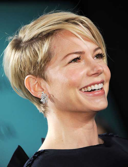 Fine Long Pixie Hairstyles