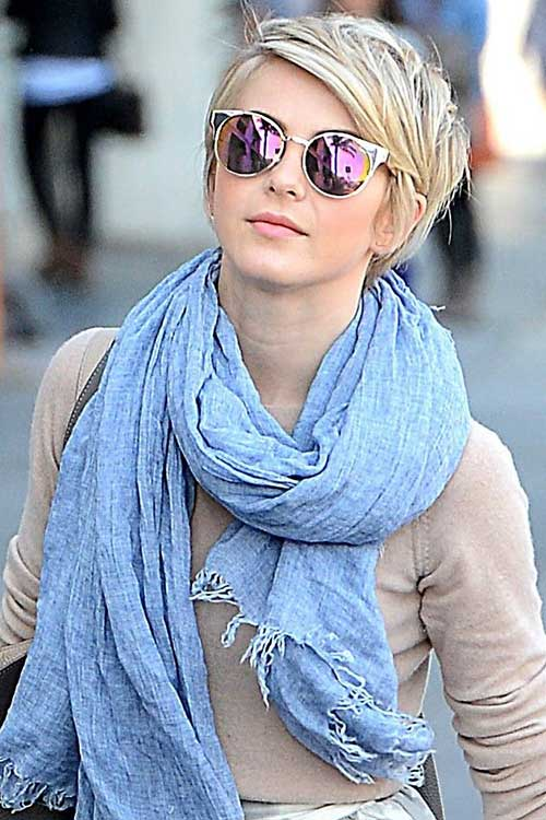 Fine Straight Long Pixie Hairstyles