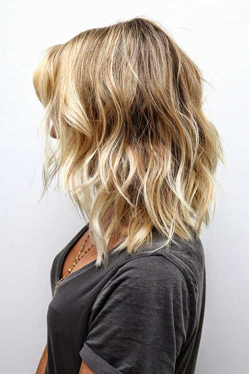 Highlighted Blonde Ombre Short Hairstyles