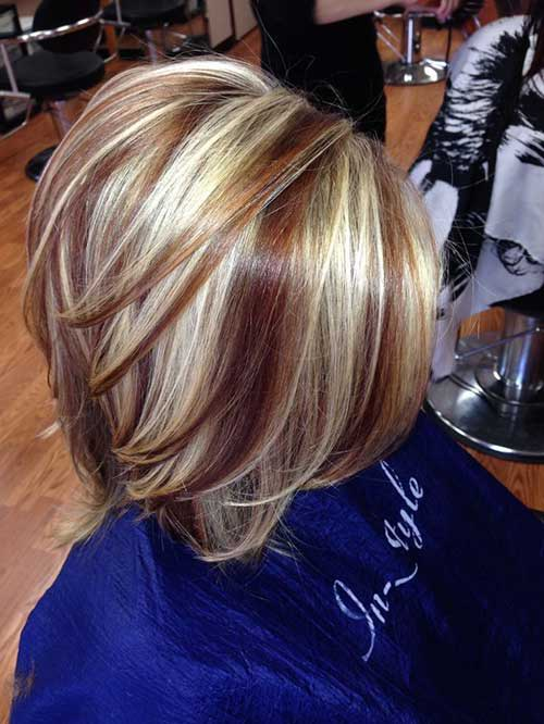 Highlighted Hairstyles for Short Haircuts