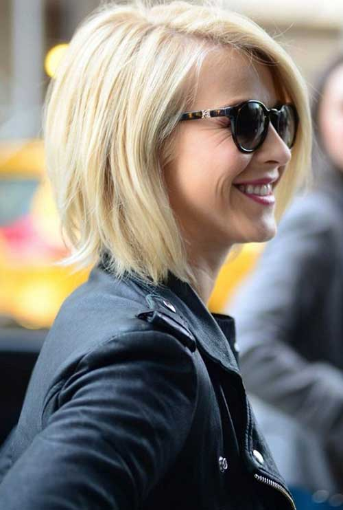 Julianne Hough Blonde Bob Haircuts 2014