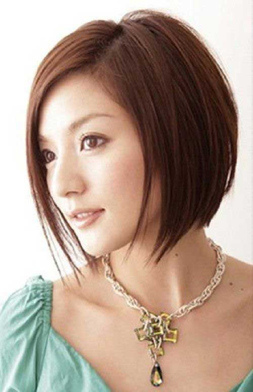 Korean Short Straight Bob Hairstyles