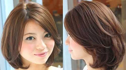 Korean Thick Bob Hairstyles