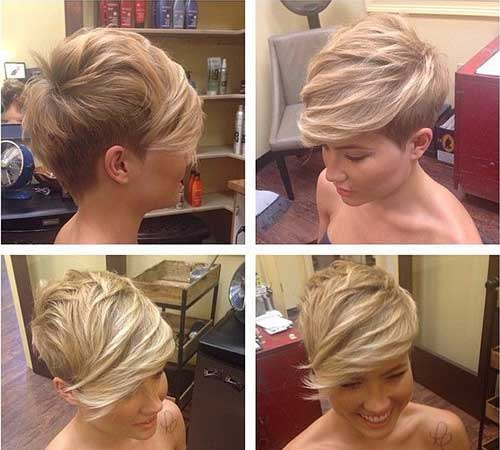 Ladies Trendy Short Pixie Hairstyles