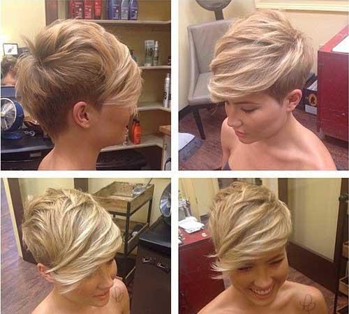Ladies Trendy Short Pixie Hairstyles