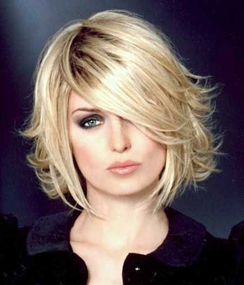 Layered Blonde Bob Haircuts 2015