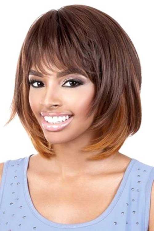 Layered Bob Hairstyles Black Women